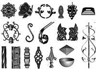 Кованые и стальные элементы