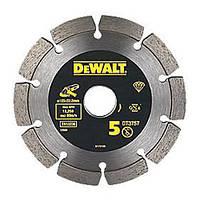 """Круг алмазный по бетону специальный сегментированный 125мм """"DeWALT"""""""