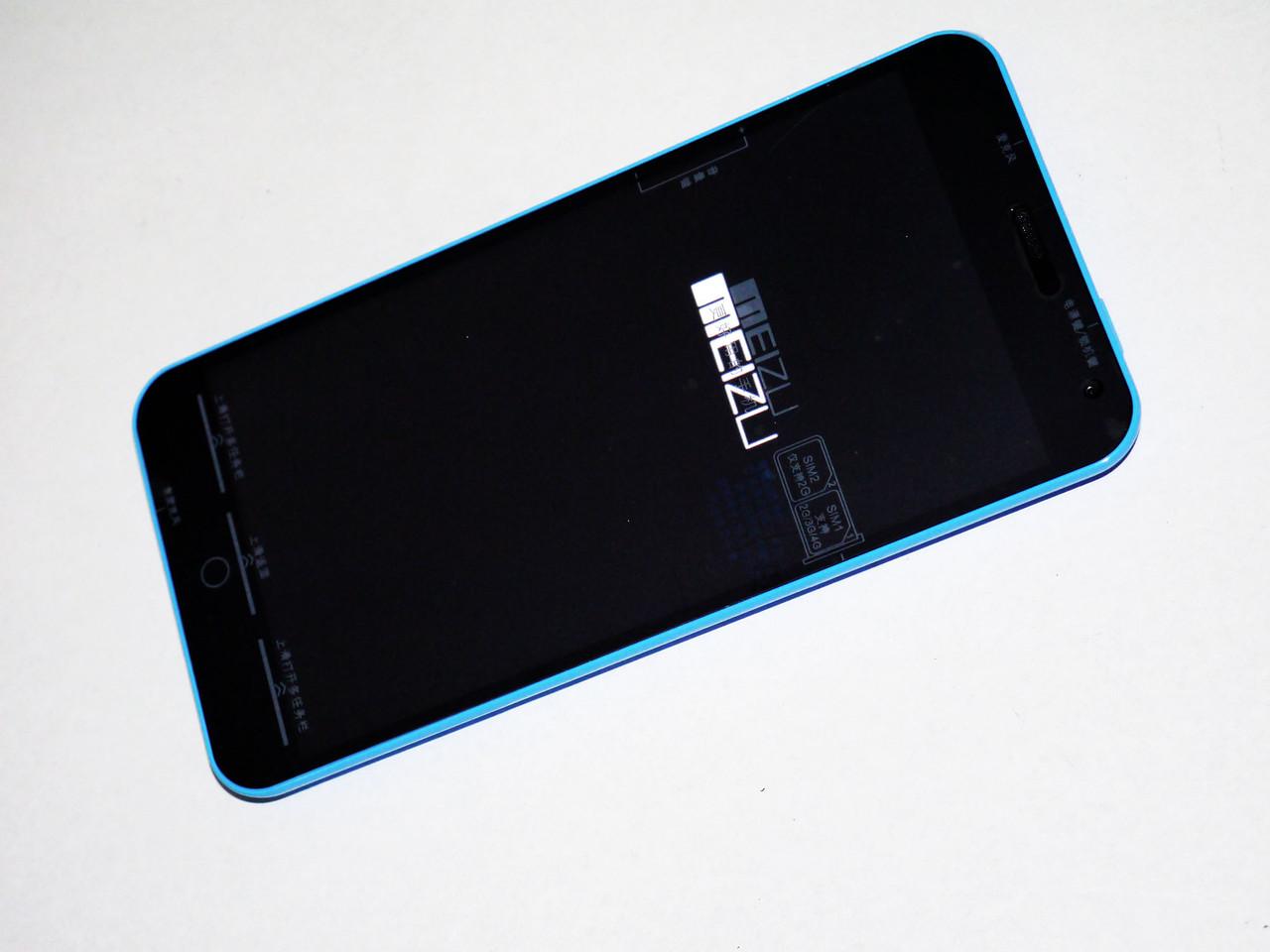 """Телефон MEIZU M1 Note Blue - 5,5"""" IPS + 2Sim +4Ядра - КОПИЯ"""