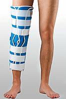 Жесткая шина для ноги с 5-тью металлическими ребрами жесткости Реабилитимед Тутор-3Н