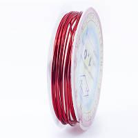 Медная Проволока 1мм/2.5м, Цвет: Красный, Толщина 1 мм, около 2.5м/моток, (УТ0028124)