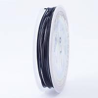 Медная Проволока 1мм/2.5м, Цвет: Черный, Толщина 1 мм, около 2.5м/моток, (УТ0028118)
