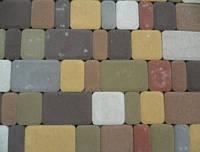 """Тротуарная плитка """"Старый город"""" 180х120, 120х120, 90х120, 60х120 мм. высота 25 мм. цвет красный, коричневый,"""