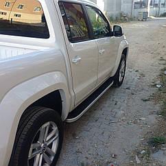 Бічні підніжки (Tayga) Volkswagen Amarok