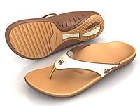 Spenco летняя женская ортопедическая обувь Yumi Caramel/Coffee