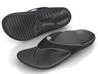 Spenco летняя женская ортопедическая обувь Yumi Black/Black