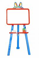 Мольберт для рисования 51-001 магнитная на трех ножках