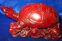 Статуэтка Черепаха на монетах 12 см