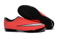 Бутсы сороконожки Nike Mercurial Victory V TF Mango, фото 1