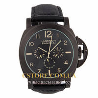 Мужские наручные часы Panerai luminor firenze black black (05721), фото 1