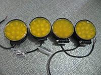Противотуманная LED фара 2205-39 Вт желтая , фото 1