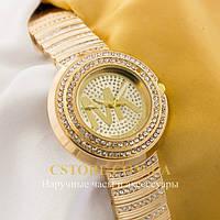 Женские наручные часы Michael Kors gold gold (05533)