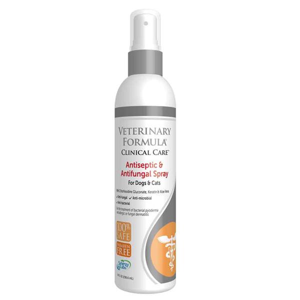 Veterinary Formula Antiseptic&Antifungal Spray АНТИСЕПТИЧЕСКИЙ И ПРОТИВОГРИБКОВЫЙ СПРЕЙ для собак и кошек
