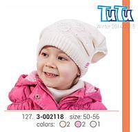 Шапка для девочки арт. 3-002118