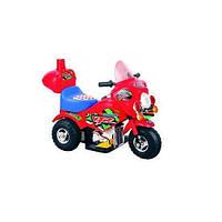 Детский электромотоцикл M-026-R, красный