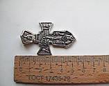 Крест серебряный Распятие. Ангел Хранитель 002, фото 7