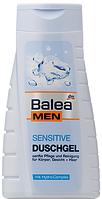 Гель для душа Balea Men Sensitive 3in1 для чувствительной кожи 300 ml (14 шт/уп)