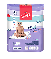 Пеленки детские HAPPY BELLA BABY 60x60 см. (5 шт)