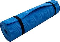 Коврик Polifoam однослойный c рифлением радуга, синий, фото 1