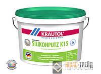 Krautherm Silikonputz - силиконовая штукатурная смесь белого цвета, 25кг