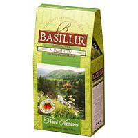 "Чай Basilur ""Летний"" Зелёный чай 100 грамм"