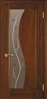 """Дверь межкомнатная ТМ""""Терминус"""" Модель 16 каштан остекленная"""