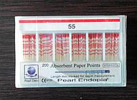 Штифты бумажные PEARL DENT 0.2 № 55