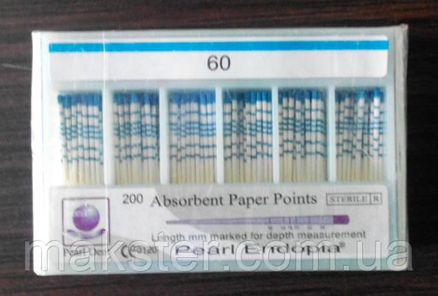 Штифти паперові PEARL DENT 0.2 № 60, фото 2