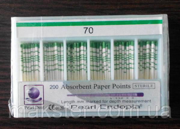 Штифты бумажные PEARL DENT 0.2 № 70, фото 2