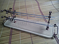 "Подставка деревянная на 3 шампура ""Трио"""