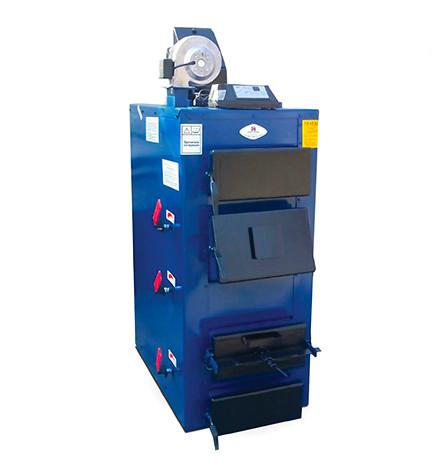 Твердопаливний котел тривалого горіння Ідмар GK-1 10 кВт (на дровах і вугіллі)