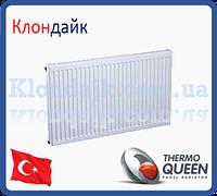 Стальной радиатор боковое подключение 11К*500*800 THERMOQUEEN