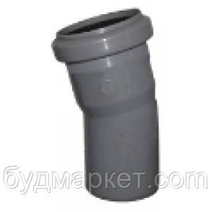 Колено  50/22 для внутренней канализации