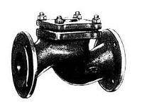 Клапан обратный 16ч6р,16ч6бр Ду65 Ру16