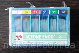 Штифты бумажные Aceone-Endo 0.4 № 15-40