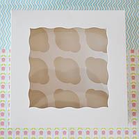 Коробка на 9 капкейков (с окошком), фото 1