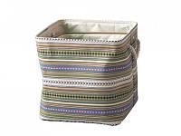 Текстильная корзина с ручками