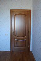 Двери межкомнатные деревянные из массива под заказ