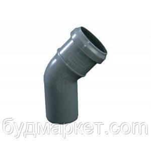 Колено  50/45 для внутренней канализации