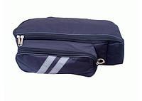 Сумка на багажник для 3-х свинцовокислотных АКБ 12-14 Ач