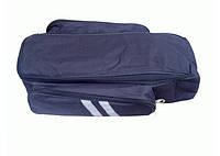Сумка на багажник для 4-х свинцовокислотных АКБ 12-14 Ач