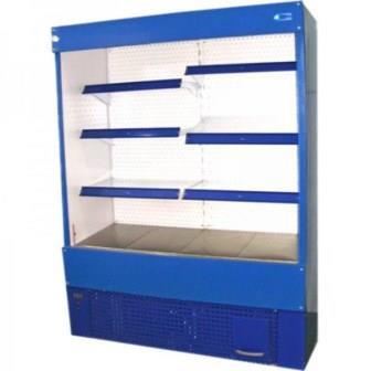 Пристінна холодильна гірка Айс-Термо ЦПХ 1.25 БОРУ з автооттайкой