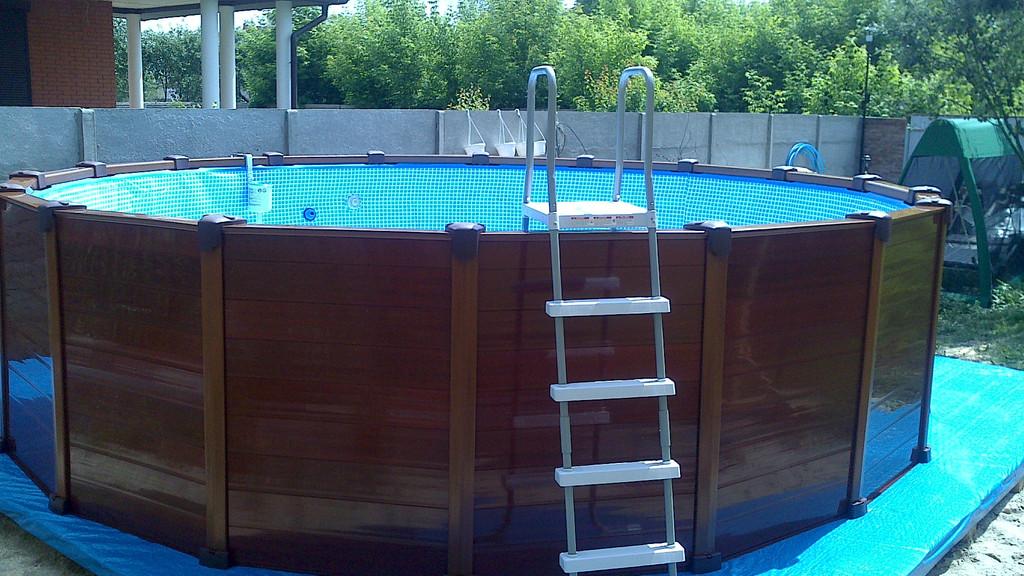 Производим установку бассейнов запуск фильтровых насосов и ремонт. 4