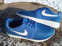 Кроссовки в стиле Nike Roshe Run синие (размеры 38-39)