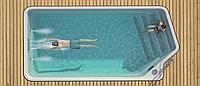 Композитный керамический бассейн WaterToba