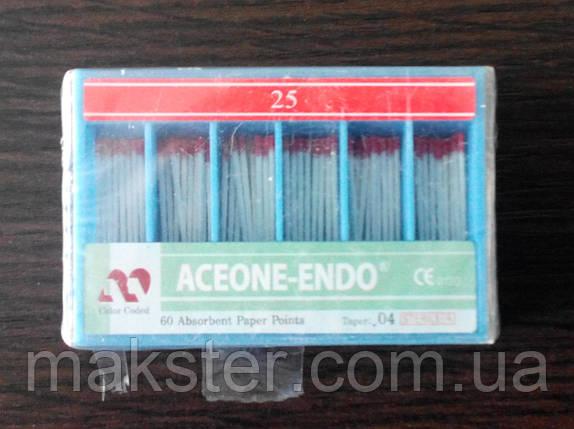 Штифты бумажные Aceone-Endo 0.4 № 25, фото 2