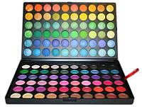 Профессиональная палитра теней для макияжа 120 цветов №1 Ярких оттенков