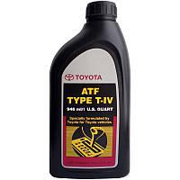 Оригинальное трансмиссионное масло TOYOTA ATF T-IV, 0,946Л.