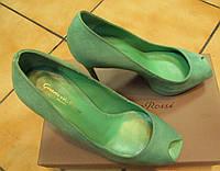 Туфли зеленые Sergio Rossi