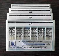 Штифты бумажные PEARL DENT 0.6 № 40
